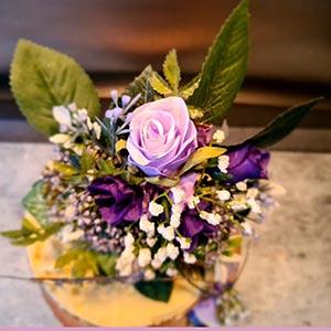 wedding floral centre piece